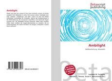 Buchcover von Ambilight