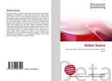 Robin Soans kitap kapağı