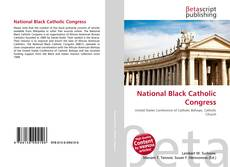 Borítókép a  National Black Catholic Congress - hoz