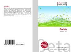 Buchcover von Ambla