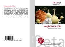 Portada del libro de Barghash ibn Said