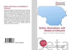 Orders, Decorations, and Medals of Lithuania的封面