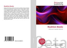 Copertina di Reaktion Books