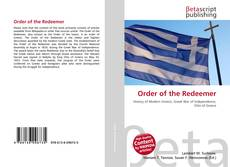 Bookcover of Order of the Redeemer
