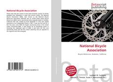 Bookcover of National Bicycle Association