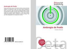 Bookcover of Ambrogio de Predis