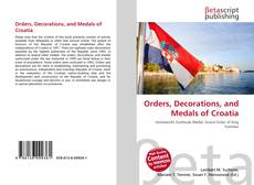 Обложка Orders, Decorations, and Medals of Croatia