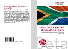 Orders, Decorations, and Medals of South Africa的封面
