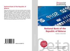 Couverture de National Bank of the Republic of Belarus