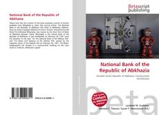 Bookcover of National Bank of the Republic of Abkhazia