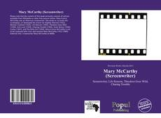 Обложка Mary McCarthy (Screenwriter)