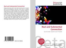 Bookcover of Real and Substantial Connection
