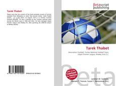 Portada del libro de Tarek Thabet