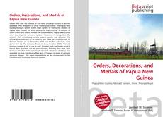 Orders, Decorations, and Medals of Papua New Guinea的封面
