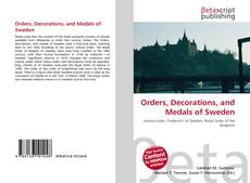 Orders, Decorations, and Medals of Sweden的封面