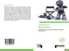 Rony Gruber的封面