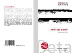 Bookcover of Ambrose Bierce