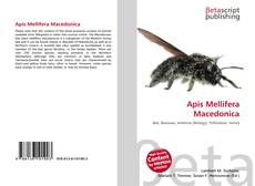Bookcover of Apis Mellifera Macedonica