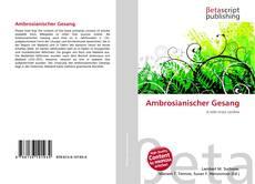 Buchcover von Ambrosianischer Gesang