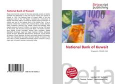 Bookcover of National Bank of Kuwait