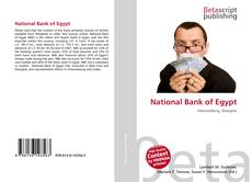 Bookcover of National Bank of Egypt