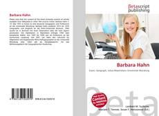 Bookcover of Barbara Hahn