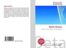 Bookcover of Robin Olsson