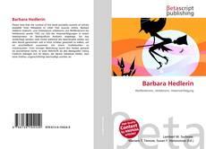 Portada del libro de Barbara Hedlerin