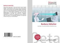 Portada del libro de Barbara Hölscher