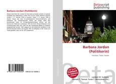 Bookcover of Barbara Jordan (Politikerin)