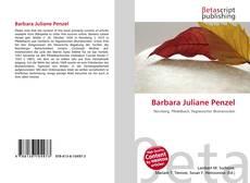 Copertina di Barbara Juliane Penzel