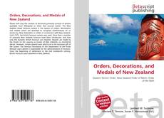 Orders, Decorations, and Medals of New Zealand的封面