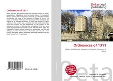 Capa do livro de Ordinances of 1311