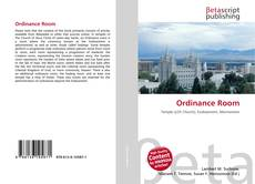 Bookcover of Ordinance Room