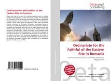 Capa do livro de Ordinariate for the Faithful of the Eastern Rite in Romania