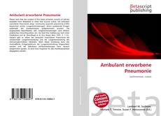 Ambulant erworbene Pneumonie的封面