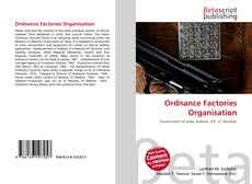 Bookcover of Ordnance Factories Organisation