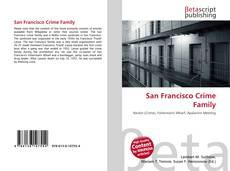 San Francisco Crime Family kitap kapağı