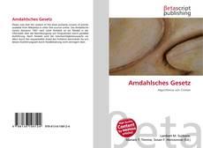 Borítókép a  Amdahlsches Gesetz - hoz