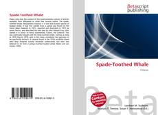 Spade-Toothed Whale的封面
