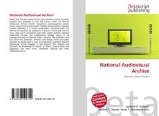 Bookcover of National Audiovisual Archive