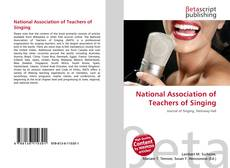 Bookcover of National Association of Teachers of Singing