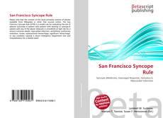 Borítókép a  San Francisco Syncope Rule - hoz