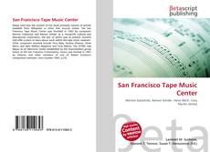 Couverture de San Francisco Tape Music Center