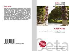 Bookcover of Chef-Haut