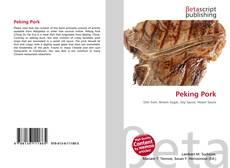 Bookcover of Peking Pork