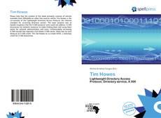 Portada del libro de Tim Howes
