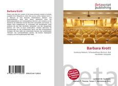 Buchcover von Barbara Krott
