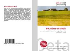 Bookcover of Bouxières-aux-Bois