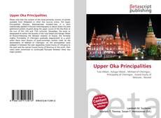 Bookcover of Upper Oka Principalities